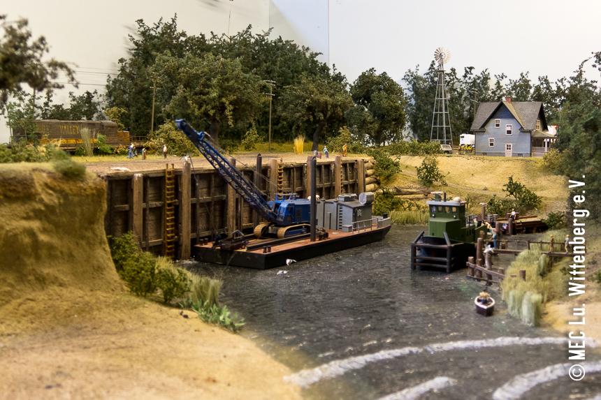 Diorama US-Binnenhafen #1